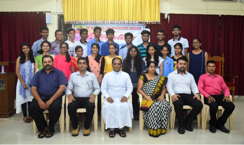 CPT Toppers Felicitated at SAPUC !!!